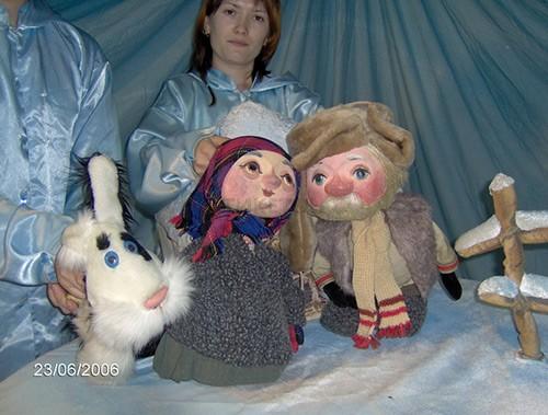 Детский спектакль «Снегурочка» в Театре кукол «Зазеркалье»