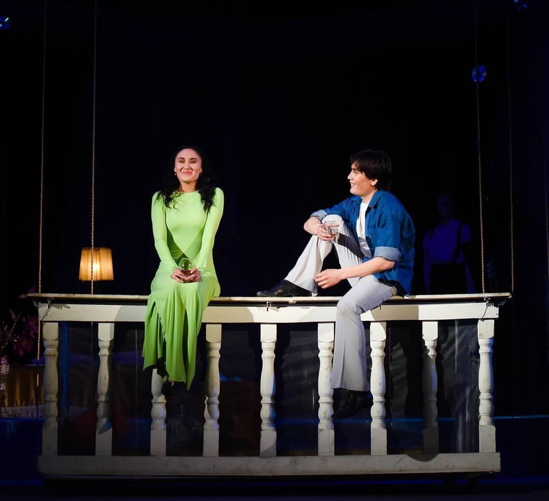 Балкон: спектакль, 20 января - казахский государственный ака.
