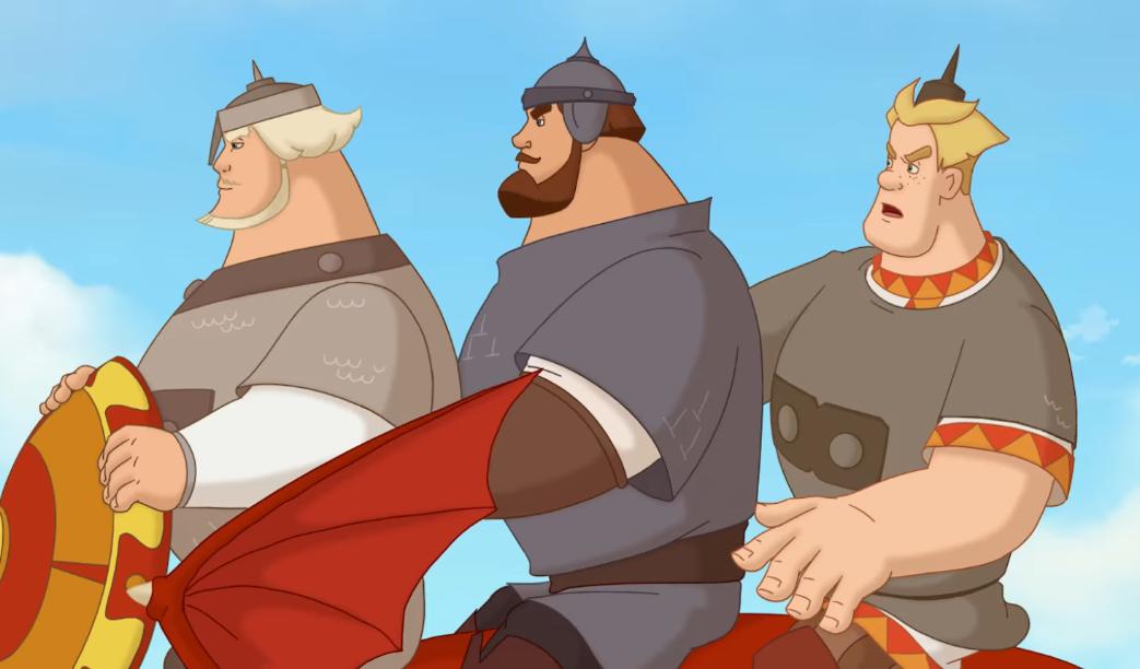 Три богатыря и Морской царь смотреть онлайн бесплатно в