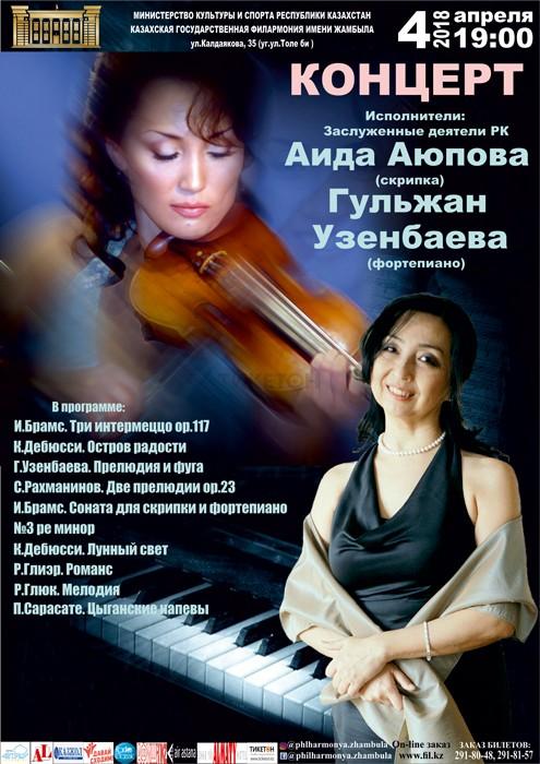 А. Аюпова и Г. Узенбаева. 4 апреля