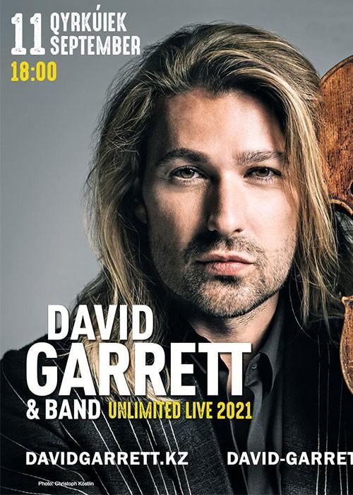 David Garret, Алматы