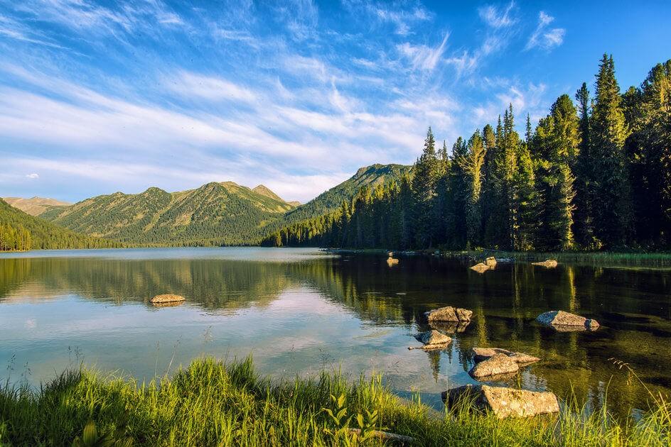 Рахмановское озеро/ Усть-Каменогорск