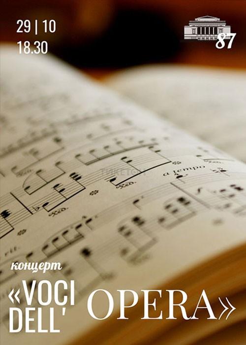 Концерт Voci dell'Opera