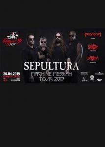 Sepultura на Kuturgan Fest 2019