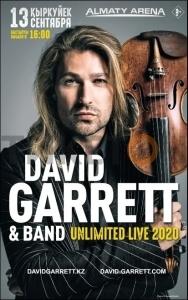 David Garrett & band UNLIMITED LIVE 2020