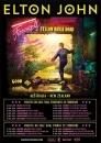 Elton John в Бирмингеме. Farewell Yellow Brick Road tour
