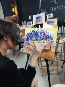 Рисуем масляными красками