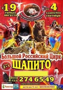 Большой Российский цирк шапито
