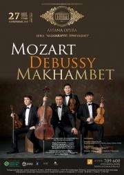 «Моцарт. Дебюсси. Махамбет» (AstanaOpera)