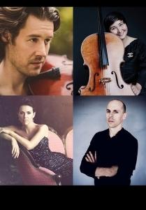 Thomas Gould, Julien Quentin, Mary Bevan & Sandi Toka Nova