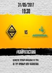 Матч Кайрат - Астана