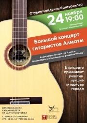 Большой концерт гитаристов