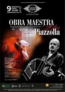 Obra maestra Astor Piazzolla