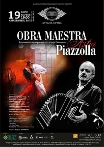 Obra maestra Astor Piazzolla (AstanaOpera)