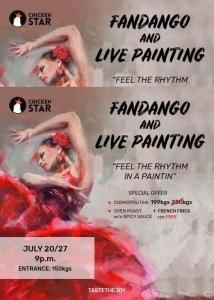 Fandango & Live Painting