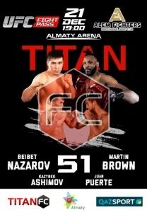 ММА «Titan FC 51»