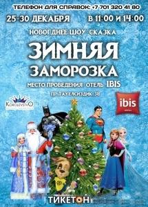 Новогоднее шоу-сказка «ЗИМНЯЯ ЗАМОРОЗКА»