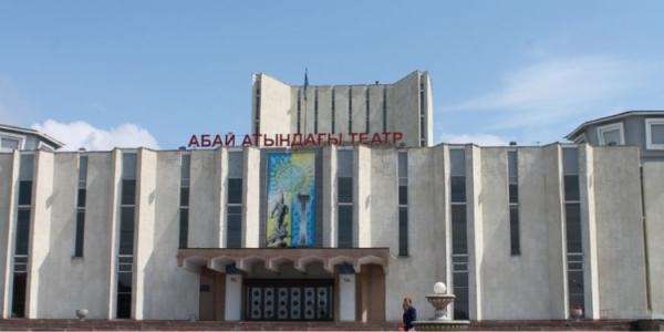 Гастрольная сцена Театра им. Абая (г. Семей)
