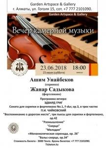 Вечер инструментальной музыки