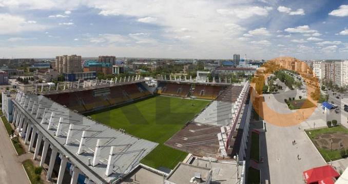 Стадион им. Кобланды батыра. Вид сверху.