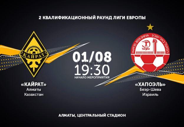 ФК «Кайрат» - ФК «Хапоэль»