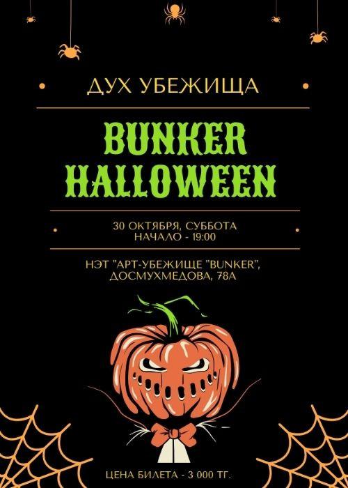 BUNKER Halloween