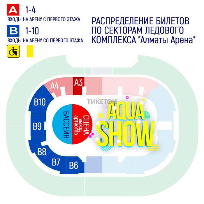 Цирковая программа «Аqua Show» - схема