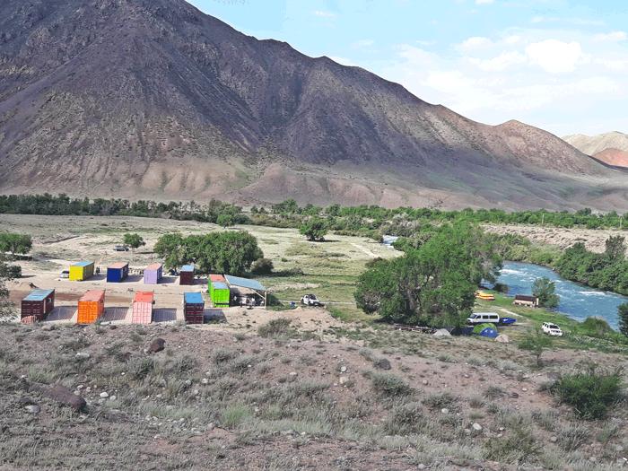 Кемпинговый Лагерь на р. Чилик