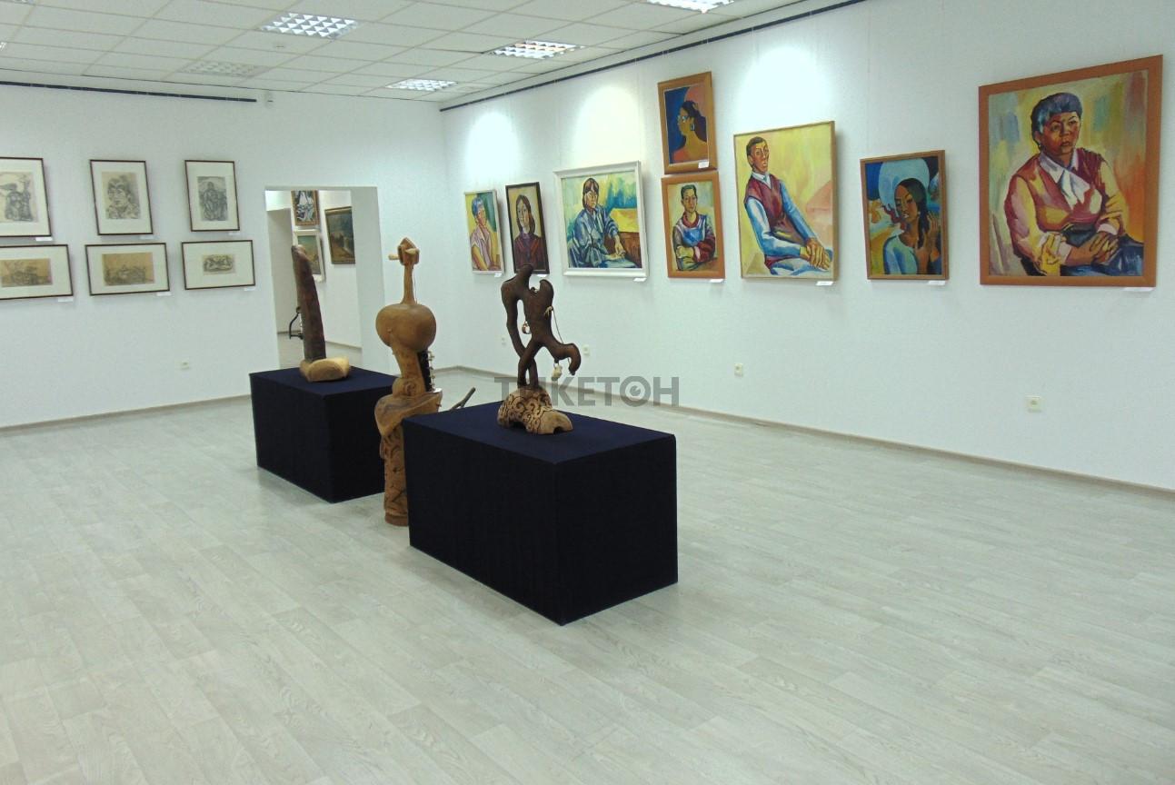 Областной музей искусства им. Ш.Сариева г. Атырау